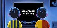 Beşiktaş'tan Şampiyonluk Videosu: 'Oyun Bitti Çocuklar, Şimdi Gerçekler'