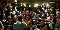 2020-2021 Süper Lig Şampiyonu Beşiktaş'ın Futbolcuları, Sergen Yalçın'ın Basın Toplantısını Bastı