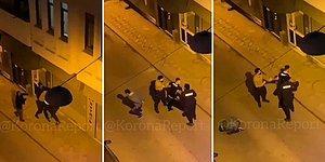 Bekçilerin Beşiktaş Taraftarına Sert Müdahalesine Mahalleli Tepki Gösterdi: Adam mı Öldürdü, Ne Yapıyorsunuz?