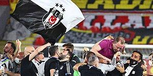 Sergen Yalçın, Kara Kartallar'ı Şampiyonluğa Taşıdı! Süper Lig'de 2020-2021 Sezonunun Şampiyonu Beşiktaş!