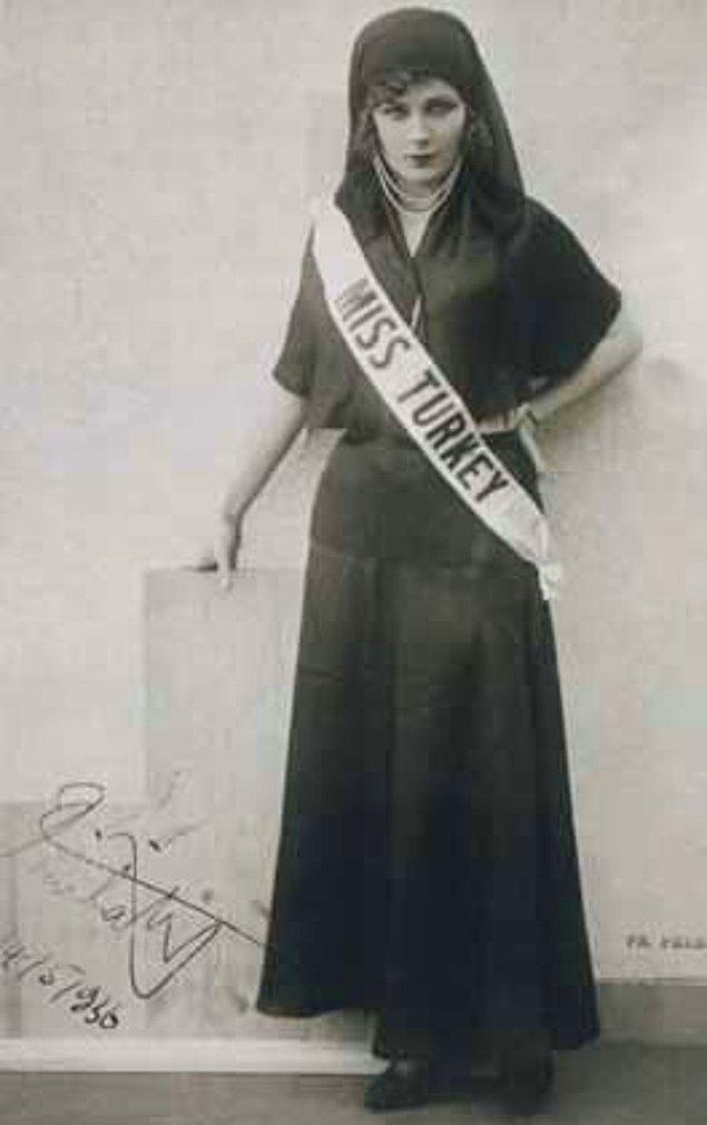 1. Feriha Tevfik (1929)