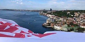 15 Temmuz Şehitler Köprüsü'ne Dev Pankart: '128 Milyar Dolar Nerede?'