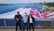 CHP'li Vekillerden Boğaz'a Dev Pankart: '128 Milyar Dolar Nerede?'