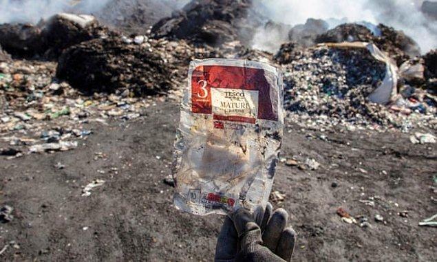Avrupa'dan Türkiye'ye yapılan binlerce tonluk plastik atık ithalatı...
