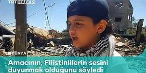 Filistinli 13 Yaşındaki Çocuk, Gazze'den Dünyaya RAP Yaparak Haykırdı: 'Acıyı mı Görmek İstiyorsun?'