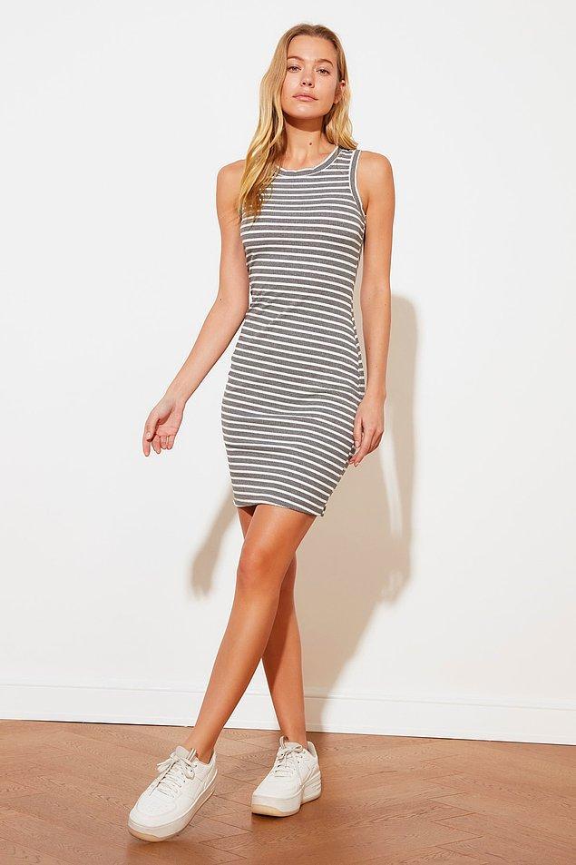 12. Sportif kadınlara çok yakışacak bir elbise.