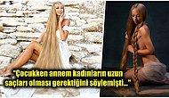 Beş Yaşından Bu Yana Saçlarını Hiç Kestirmeyen Gerçek Rapunzel: Alena Kravchenko