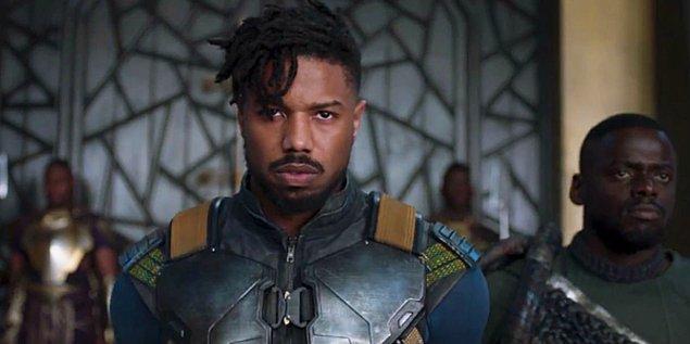 3. Erik Killmonger - Black Panther (2018)
