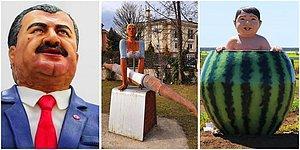 Heykel Wonderland'i Haline Dönüşen Ülkemizde Her An Garip Bir Heykele Rastlayabileceğimizi Kanıtlayan 19 Kare