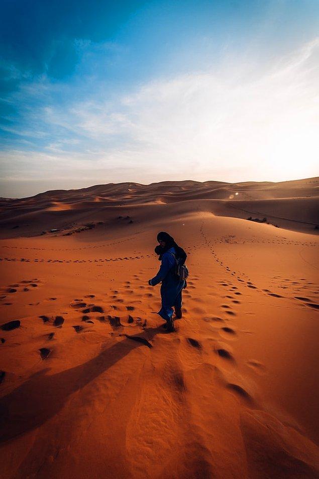 13. Tuaregliler, ilk çay servisinin hayat gibi acı olduğunu söyler. İkincisi aşk kadar tatlıdır...