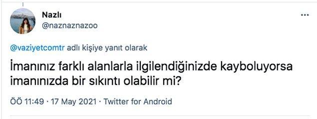 Soyadıyla müsemma Sofuoğlu'nun bu açıklamalarına her kesimden sosyal medya kullanıcısı şu şekilde tepki gösterdi.