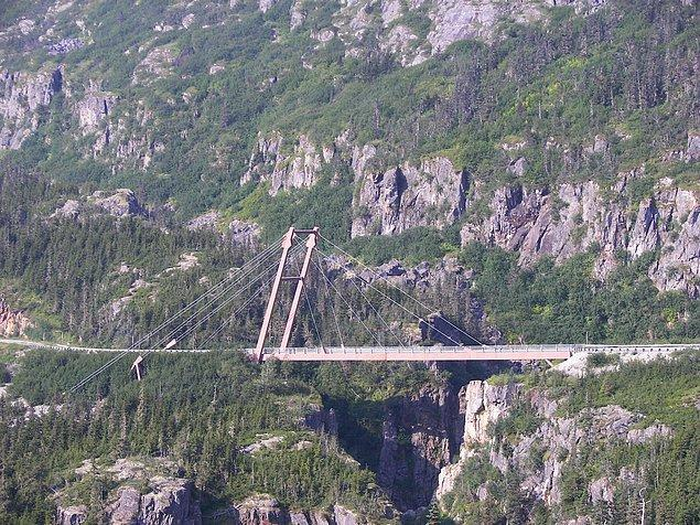 6. Kaptan William Moore Köprüsü - Skagway, Alaska