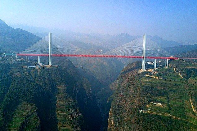 12. Duge Beipanjiang Köprüsü - Çin