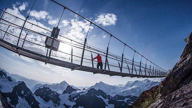 13. Titlis Kayalık Yürüyüşü - Titlis Dağı, İsviçre
