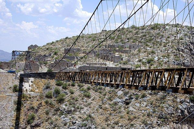 14. Ojuela Köprüsü - Mapimí, Meksika