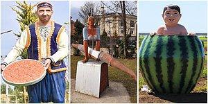 Heykel Wonderland'i Haline Dönüşen Ülkemizde Her An Garip Bir Heykele Rastlayabileceğimizi Kanıtlayan Kareler