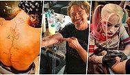 Rol Aldıkları Filmlerin Anısına Ekip Arkadaşlarıyla Birlikte Birbirinden Güzel Dövmeler Yaptıran 18 Ünlü
