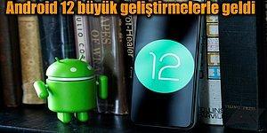 Google Merakla Beklenen Yepyeni Android 12'yi Tüm Dünyaya Tanıttı!