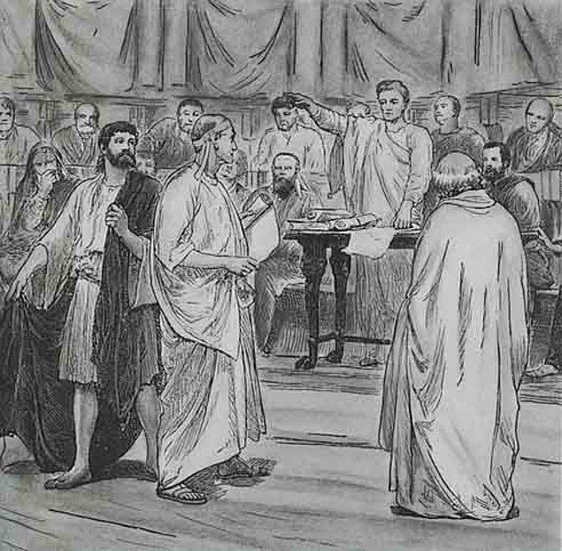 Mahkumların ve sabıkalıların oy kullanamamasının tarihi Antik Yunan ve Roma'ya dayanıyor.