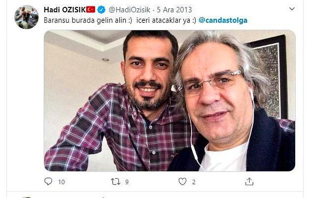 Bitmedi, bitmiyor. FETÖ'cü gazeteci Mehmet Baransu ile birlikte çektirdiği fotoğrafı da Twitter hesabından böyle yayınlamıştı.
