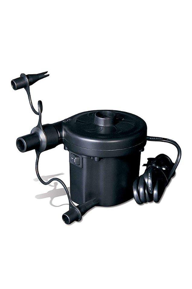 5. Tabii bu kadar şişirecek şey varsa bir elektrikli pompa şart.