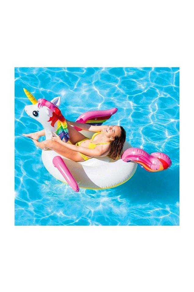 6. Instagram'da hala bu Unicorn yataklarla fotoğrafınız yoksa bu yaz olsun.