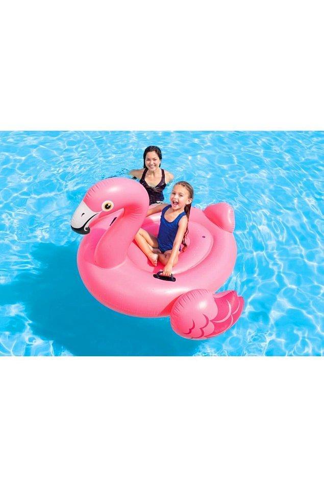 7. Tabii bir de Flamingolar var.
