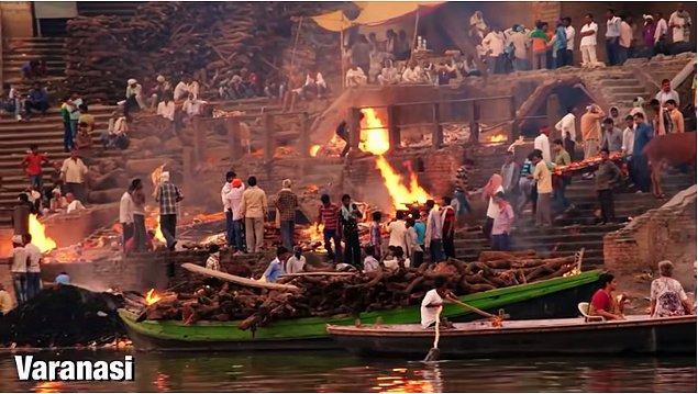 """5. Hindular Varanasi'ye """"cennetin kapısı"""" diyor ve insanların burada son nefesini vermesinin kutsal olduğuna inanıyorlar."""
