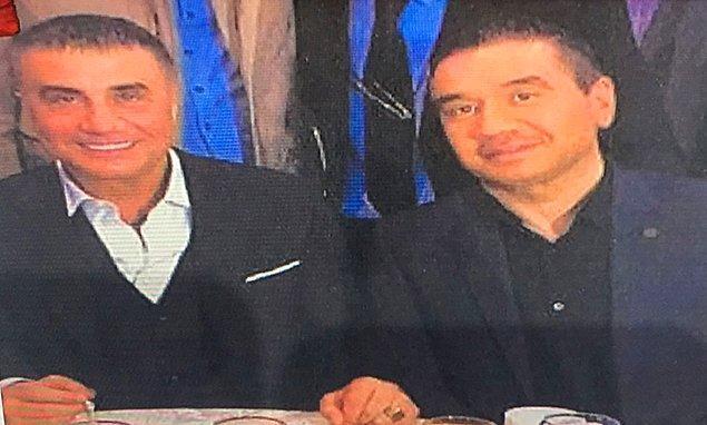 Sedat Peker'in fotoğrafını gösterdi: 'Operasyon içerisinde bulunuyor'