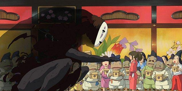 12. Ruhların Kaçışı (Sen to Chihiro no kamikakushi)