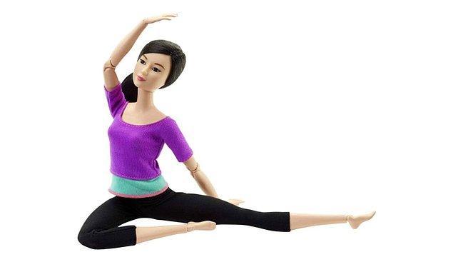 21. Barbie ile spor yapın.