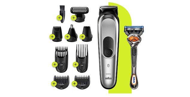 17. Kendi tıraşını kendi yapmaya alışanlar için muhteşem bir set.