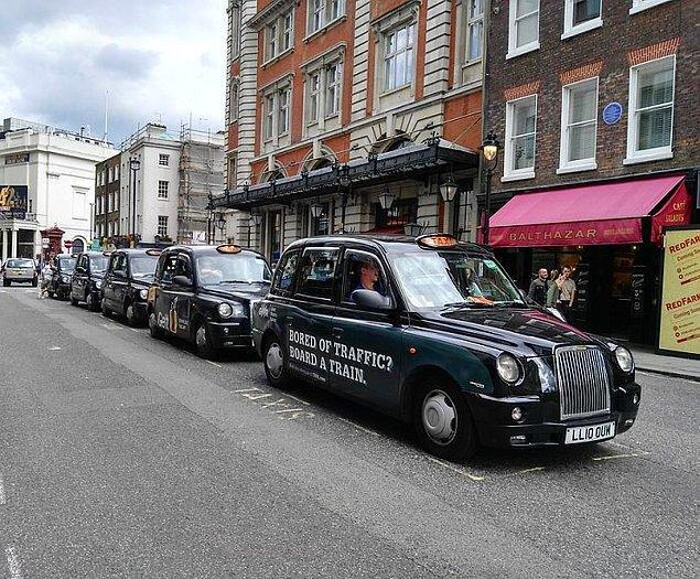 20. İngiltere'de veba hastasıysanız taksiye binmeniz yasak.