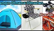 Bir Çadırdan Daha Fazlası: Kamp İçin Olmazsa Olmaz Malzemeler