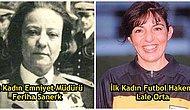 Türkiye'de Belirli Mesleklerin İlkleri Olan 20 Türk Kadını