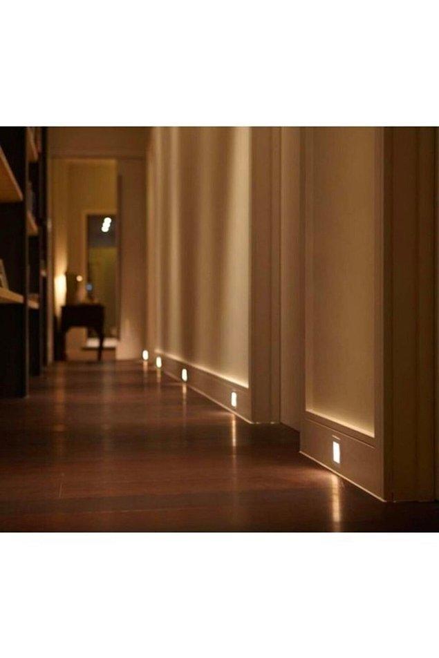 9. Koridorda şöyle hafif bir aydınlık fena olmaz gibi...