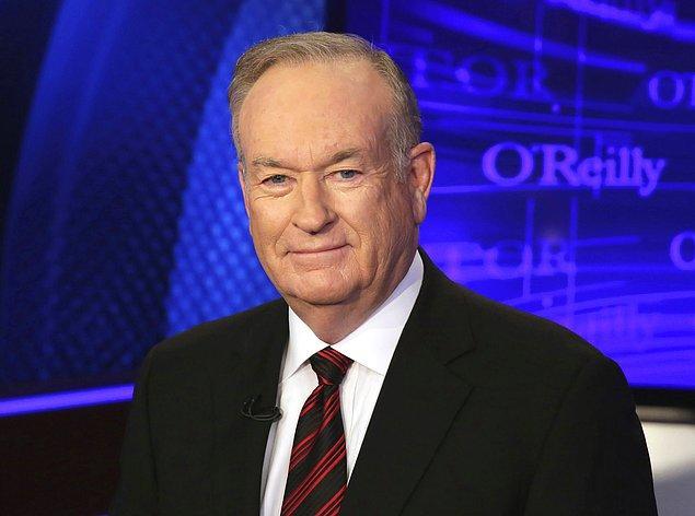 8. Bill O'Reilly - Cinsel taciz