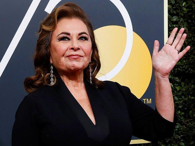 10. Roseanne Barr - Irkçılık