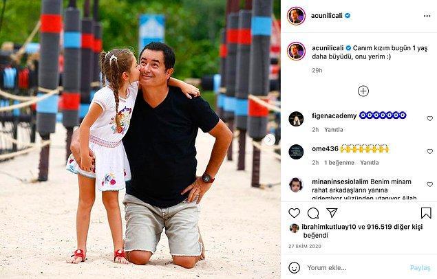 Son kızı ise herkesin bildiği, sosyal medyanın gözü önünde büyüyen Melisa!