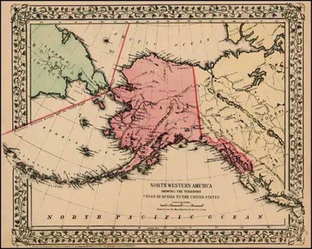 4. Alaska'nın bir zamanlar Rusya'ya ait olduğunu biliyor muydunuz?
