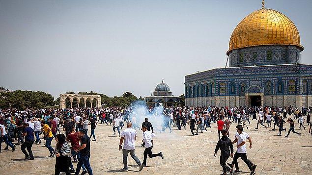 20 Filistinli yaralandı