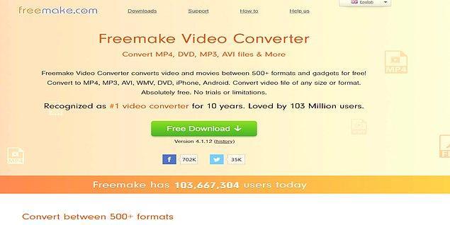 11. Freemake Video Converter