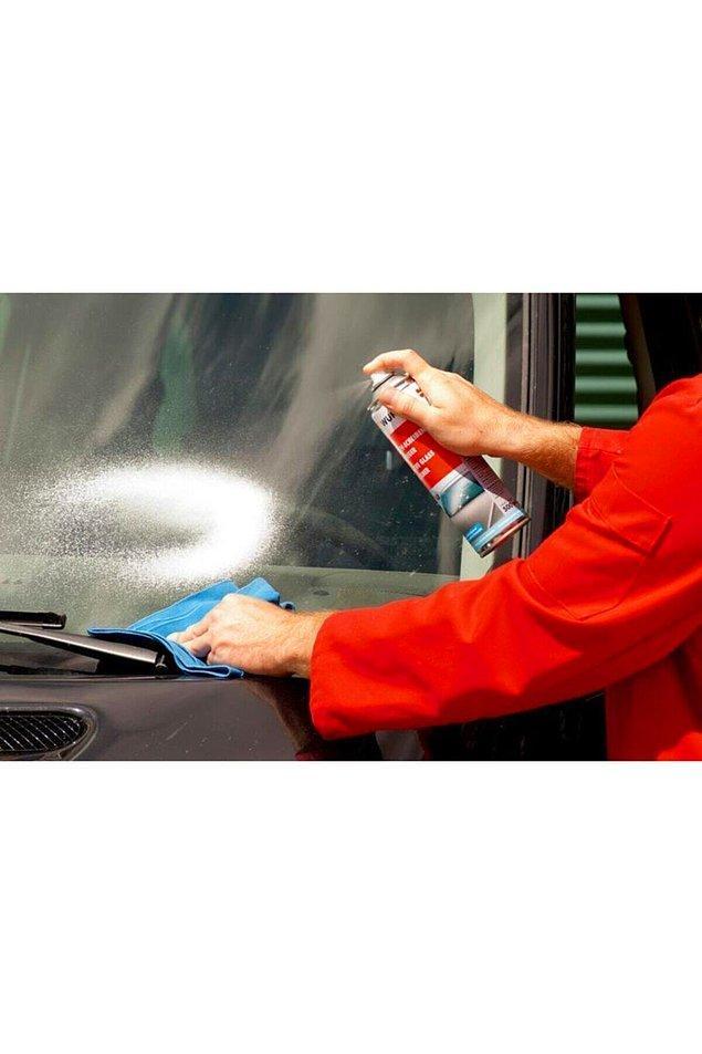 10. Araba camlarınızı neyle temizliyorsunuz?