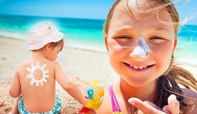 6. Çocuklar için olan güneş kremlerinin farkı nedir?