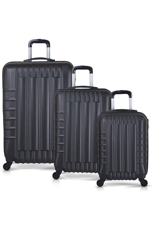 9. Tek valiz yetmezse bu seti mutlaka alın.