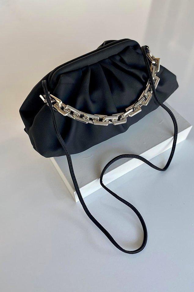 12. Düğün ve davetler için de bir çanta şart!