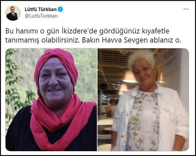 Havva Sevgen isimli kadının kimliğiyle ilgili İYİ Parti TBMM Grup Başkan Vekili Kocaeli Milletvekili Lütfü Türkkan'dan bir iddia geldi. 👇