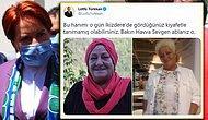 İYİ Partili Türkkan, Akşener'le 'Tartışan' Kadının Fotoğraflarını Paylaştı: 'Havva Ablanızı Tanıdınız mı?'