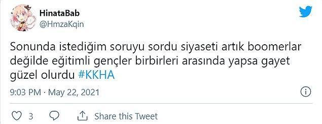 10. Kemal Kılıçdaroğlu da boomer'lara bol bol giydirdi desek yalan olmaz. 😅