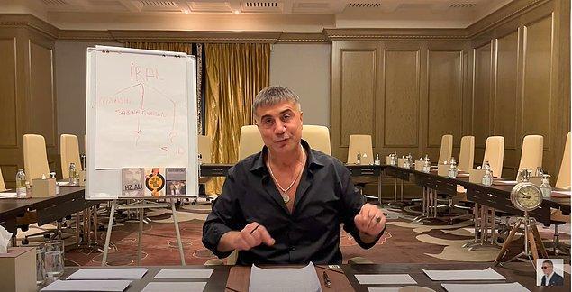 """Sedat Peker """"Tüm Para Transferi Kıbrıs'tan Dönüyor"""""""
